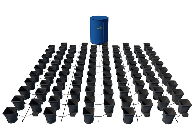 AutoPot - 100 Pot XL System Kit - 100 Pot 25 L + 2 x Reservoir 400 L