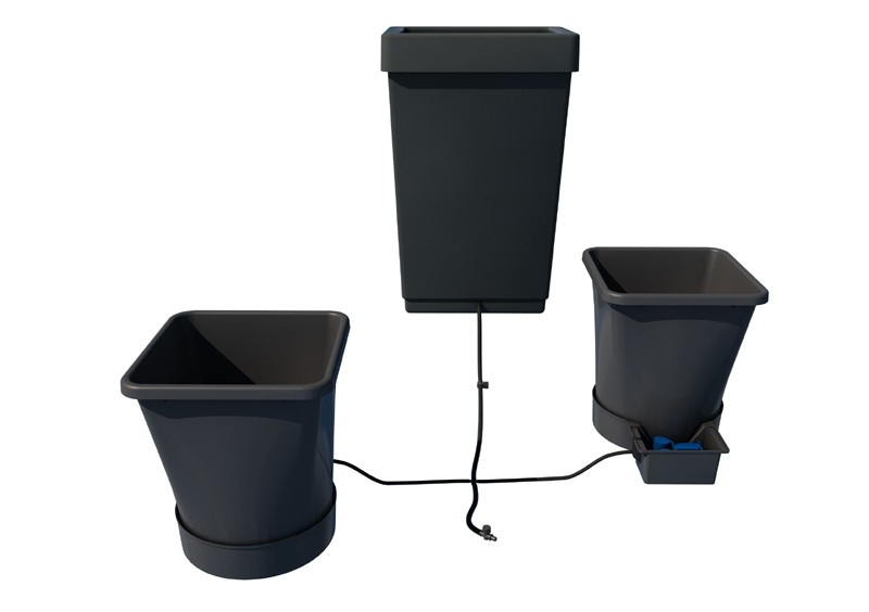 autopot 2 pot xl system kit 2 pot 25 l reservoir 47 l. Black Bedroom Furniture Sets. Home Design Ideas