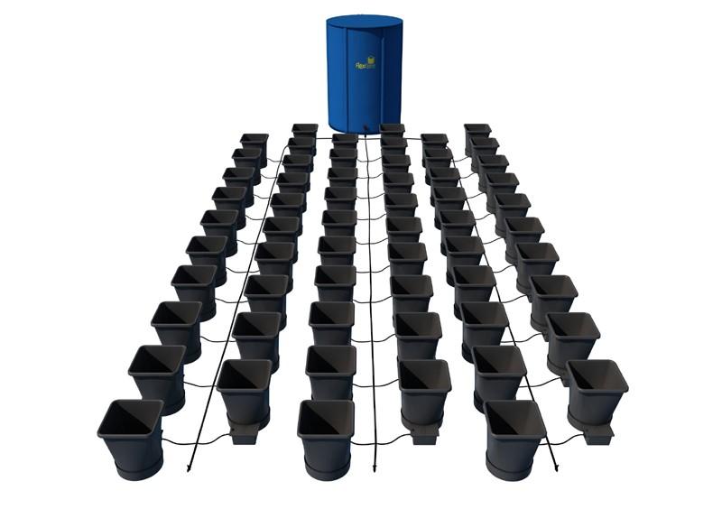AutoPot - 60 Pot XL System Kit - 60 Pot 25 L + Reservoir 400 L