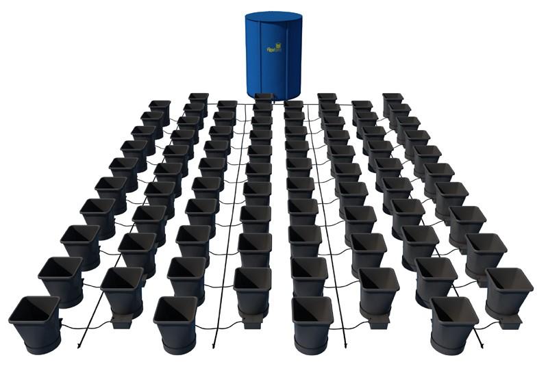 AutoPot - 80 Pot XL System Kit - 80 Pot 25 L + 2 x Reservoir 400 L