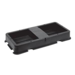 AutoPot - Soucoupe Noire - 2 Pots 8,5 L + Capot