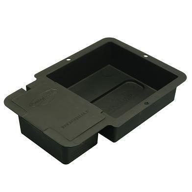 AutoPot - Soucoupe Noire - 1 Pot 15 L + Capot