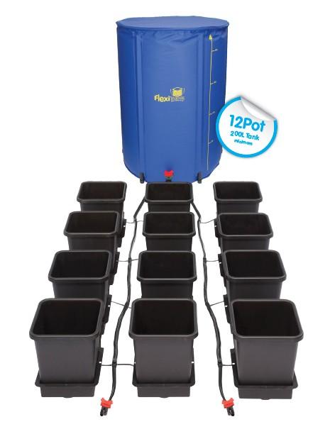 AutoPot - 12 Pot System Kit - 12 Pot 15 L + Reservoir 225 L
