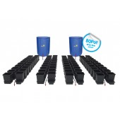 AutoPot - 80 Pot System Kit - 80 Pot 15 L + 2 x Reservoir 400 L