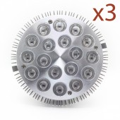 LED - BIONICLED - PACK 3 x BioSpot 54 W - E27 - LED 18-3W - Full Spectrum
