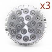 LED - BIONICLED - PACK 3 x BioSpot 54 W - E27 - LED 18-3W - Full Spectrum