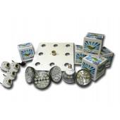 LED - BIONICLED - PACK 4 x BioSpot 54 W + 1 x 45 W - E27 + Douille + Platine