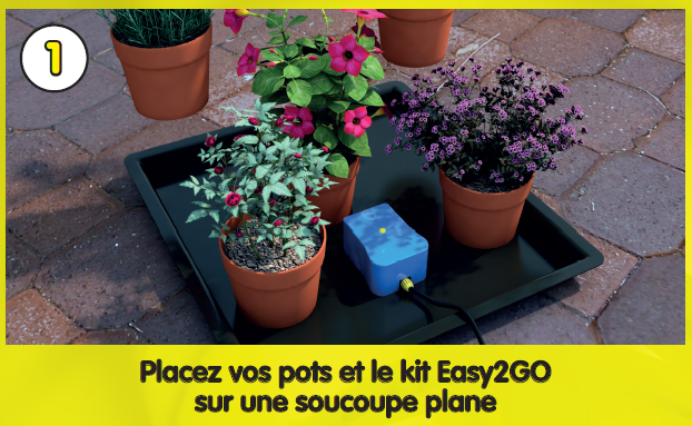 AutoPot - Easy2Go Kit - Etape 1